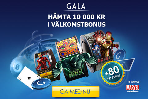 Besök Gala Casino
