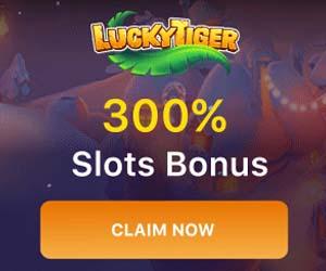 Besök Lucky Tiger för gratis casino bonus