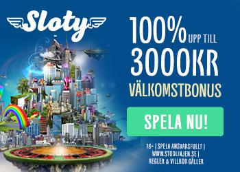 Besök Sloty Casino för bästa casino bonus