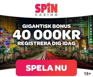 Besök Spin Casino för bästa casino bonus