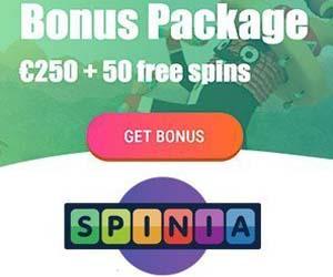 Besök Spinia Casino för gratis casino bonus