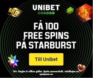Unibet Casino Recension och Betyg