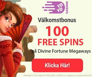free spins eller gratis bonus hos YoYo Casino
