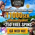 Besök Casino Cruise för en exklusiv casino bonus