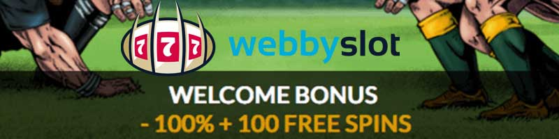 webby slot casino bonus