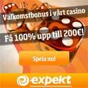 Besök Expekt Casino för en exklusiv casino bonus