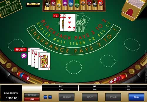 Spela gratis blackjack