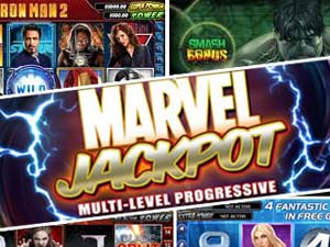 Marvel casino jackpott