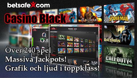 Läs mer om att Casino Black nu hos Betsafe