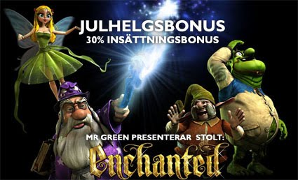 Läs mer om att Enchanted - Ny slot hos Mr Green