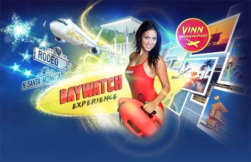 Läs mer om att Vinn Baywatch resa till Los Angeles med Gala Casino