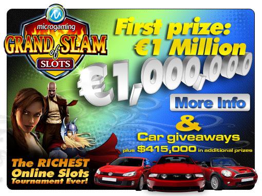 Läs mer om att Grand Slam of Slots
