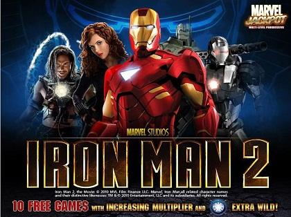 Läs mer om att Iron Man 2 ny slot från Playtech