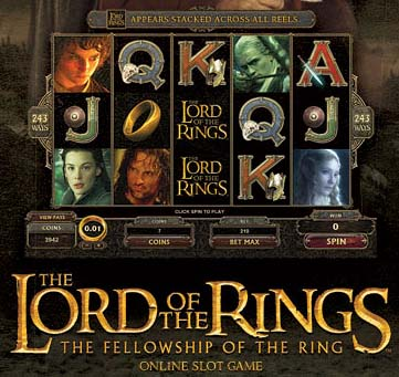 Läs mer om att Lord of the rings slot