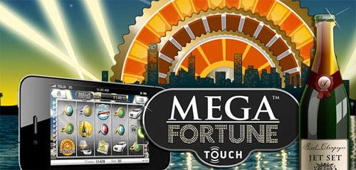 Läs mer om att Mega Fortune slot går nu att spela på mobilen