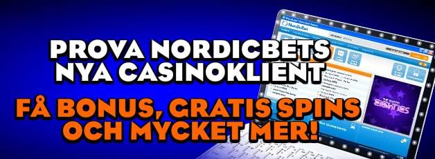 Läs mer om att Nordicbet casino blir nedladdningsbart casino