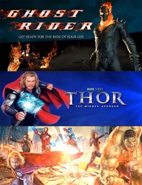 Läs mer om att 3 Nya Marvel slots från Playtech