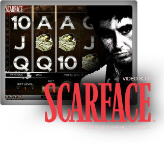 Läs mer om att Scarface video slot