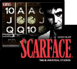 Läs mer om att Scarface video slot