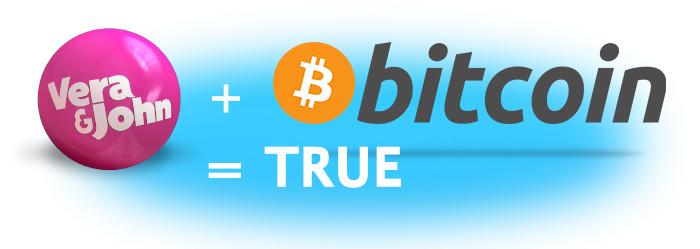 Läs mer om att Vera John Casino blir första casinot att införa bitcoin