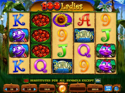 100 Ladies slot