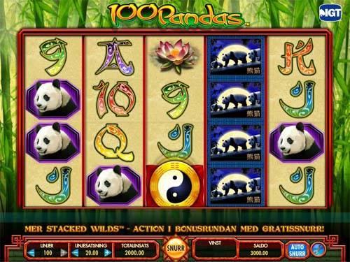 100 Pandas slot