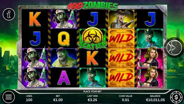 100 Zombies slot