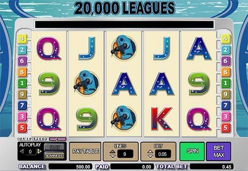 20000 Leagues free slot