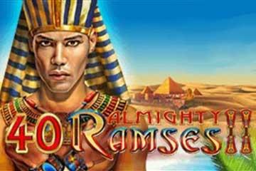 40 Almighty Ramses 2 slot