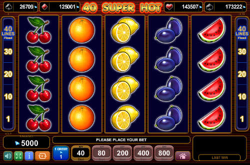 Burning Hot™ Slot spel spela gratis i EGT Online Casinon