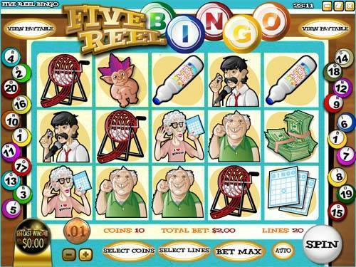Reel Bingo 5 Reel Circus A Day At The