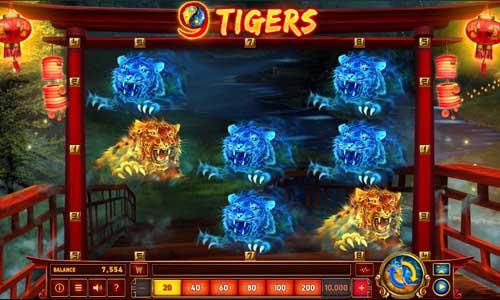 9 Tigers videoslot