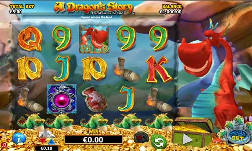 A Dragons Story free slot