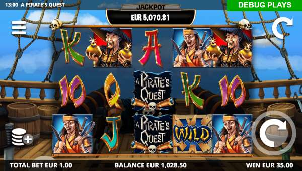 A Pirates Quest videoslot