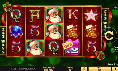 A Visit from St Nick slot
