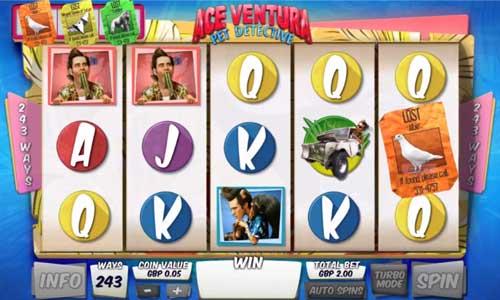 Ace Ventura videoslot