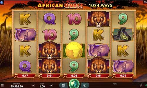 African Quest videoslot