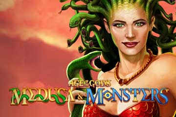 Age of the Gods Medusa and Monsters video slot