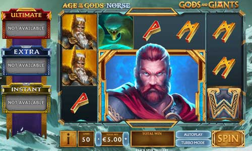Age of the Gods Norse Gods and Giants videoslot