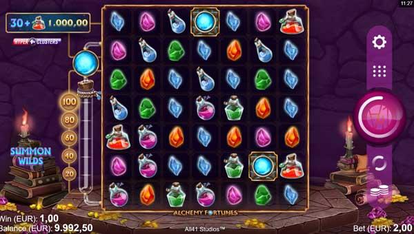 Alchemy Fortunes videoslot
