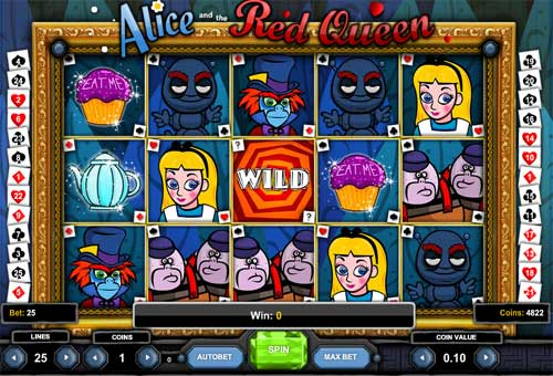 Alice and the Red Queen free slot