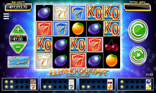 All Star Knockout Ultra Gamble videoslot