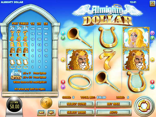 Almighty Dollar free slot