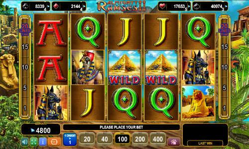 Almighty Ramses 2 free slot