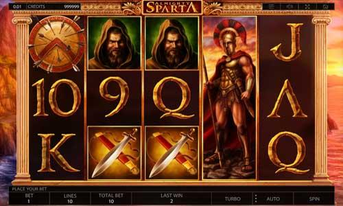 Almighty Sparta videoslot