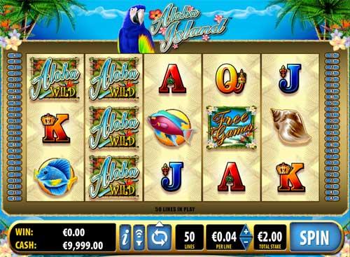 Aloha Island free slot