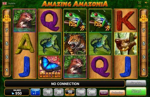 Amazing Amazonia videoslot