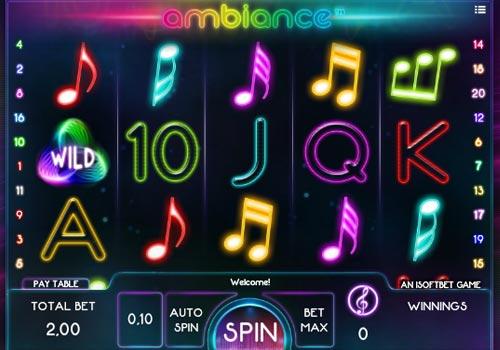 Ambiance free slot