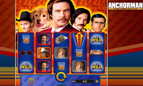 Anchorman videoslot