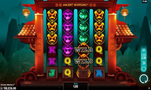 Ancient Warriors videoslot